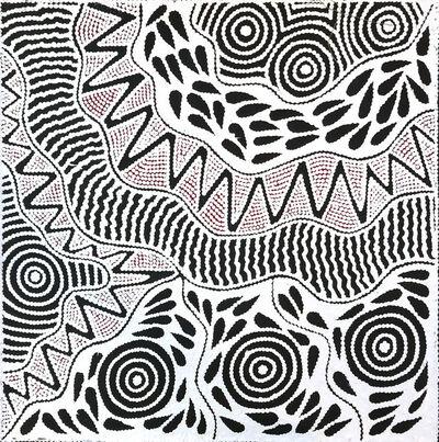 Ursula Napangardi Hudson, 'Pikilyi Jukurrpa (Vaughan Springs Dreaming)', 2018