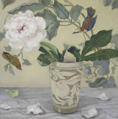 Barbara Kassel, 'Peony in Rabbit Vase', 2014