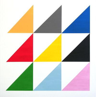 Jessica Snow, 'Nine Triangles', 2013