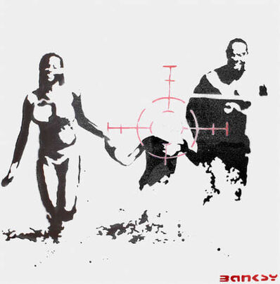 Banksy, 'Family Target Painting', 2003