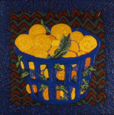 Mel Casas, 'Blue Orange Basket', 1993