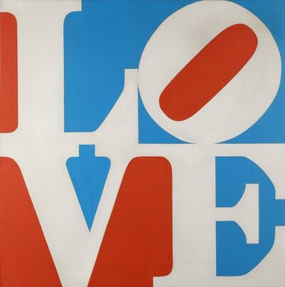 Robert Indiana, 'LOVE', 1972