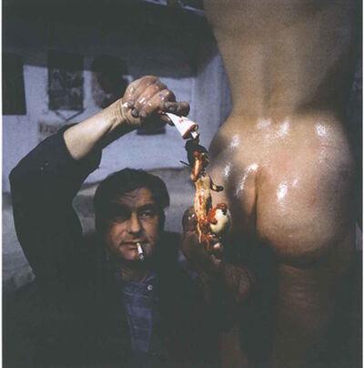 Otto Muehl, 'Funebre Aktion 34', 1966