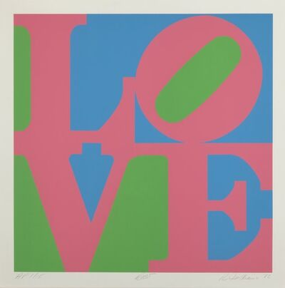Robert Indiana, 'Roses, from the Garden of Love portfolio', 1982