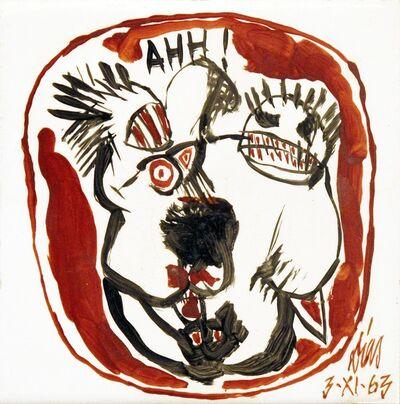 Antonio Dias, 'Ahh!', 1963