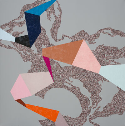 Zsófi Barabás, 'Colourful whirl', 2016