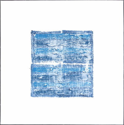 Len Klikunas, 'NY Blue 2', 2018