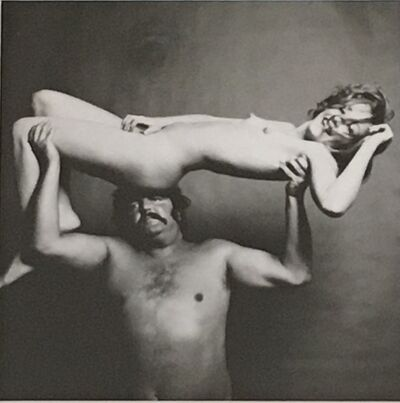 Guy Bourdin, 'Nude and Strongman', 1972