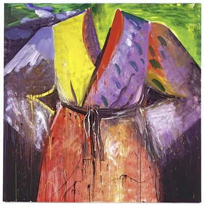 Jim Dine, 'Blood's on the river now', 2005