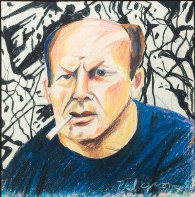 Red Grooms, 'Jackson Pollock', 1986