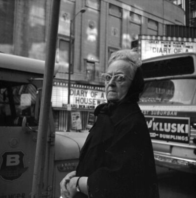 Vivian Maier, 'Old Woman with Glasses (VM1970W01639_2)', 1970