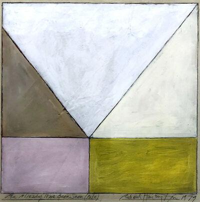 Richard Huntington, 'As Already Has Been Seen (Pale)', 1979