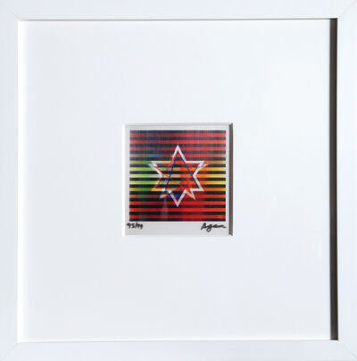 Yaacov Agam, 'Two Stars (Small)', ca. 1990