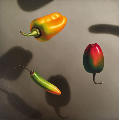 Otto Duecker, 'Three Small Peppers', 2018
