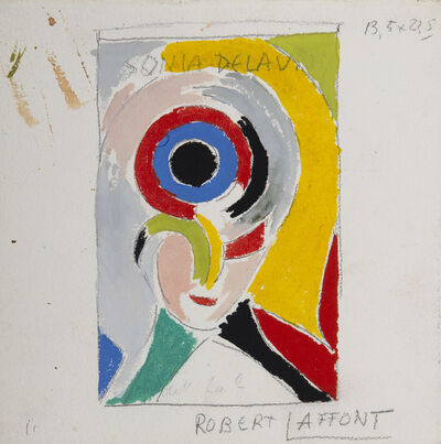 Sonia Delaunay, 'Autoportrait', 1978