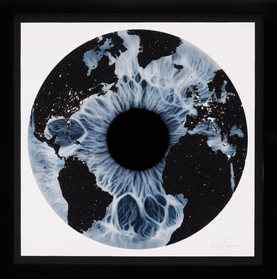 Marc Quinn, 'Blue Iris (Diamond Dust)', 2019