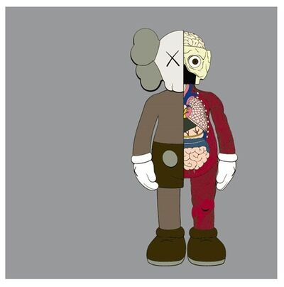 KAWS, 'Dissected Companion (brown)', 2006