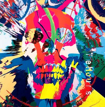 Damien Hirst, 'Rare original Damien Hirst vinyl record art (Damien Hirst skull art)', 2009