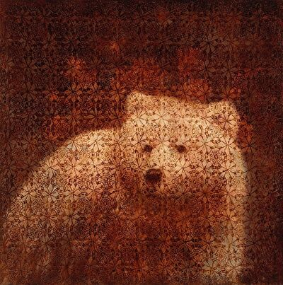Susan Hall, 'Bear', 2021