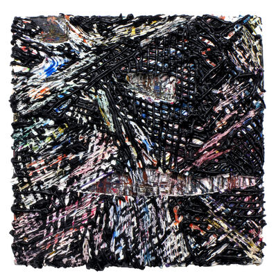 Jacin Giordano, 'Cutpainting #38', 2014