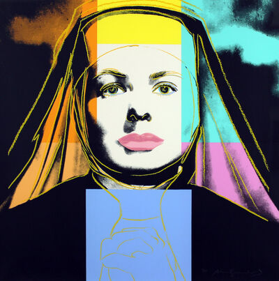 Andy Warhol, 'Ingrid Bergman, The Nun (FS II.314)', 1983