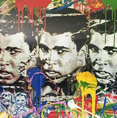 Mr. Brainwash, 'Legend Forever (Muhammad Ali)', 2016