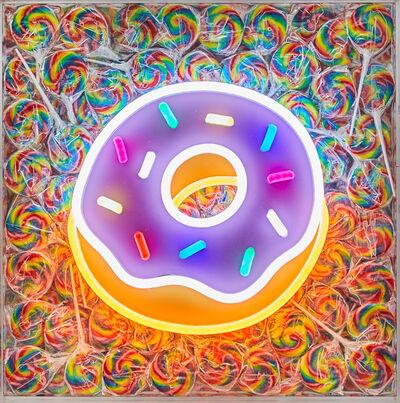 Robyn Blair x Name Glo, 'Donut', 2019
