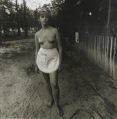 Diane Arbus, 'Waitress, Nudist Camp, NJ', 1963