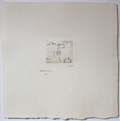 Eduardo Chillida, 'Enda VII', 1976