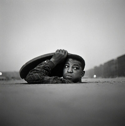 Gordon Parks, 'The Invisible Man, Harlem, New York (32.005)', 1952