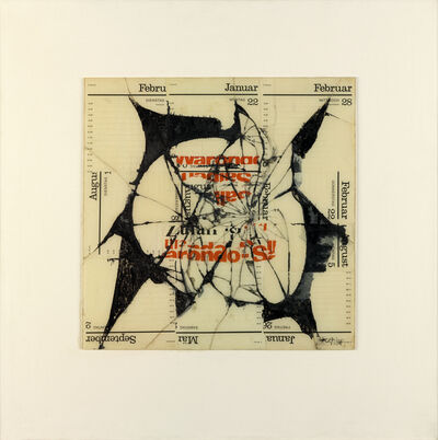 Reinhold Koehler, 'Figur Ondo, Contre-Collage', 1968