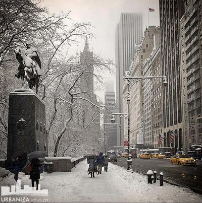 Den Marino, 'NYC Winter Statue'