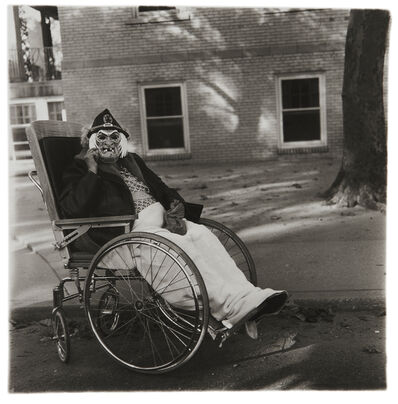 Diane Arbus, 'Masked Woman in a Wheel Chair, PA.', 1970