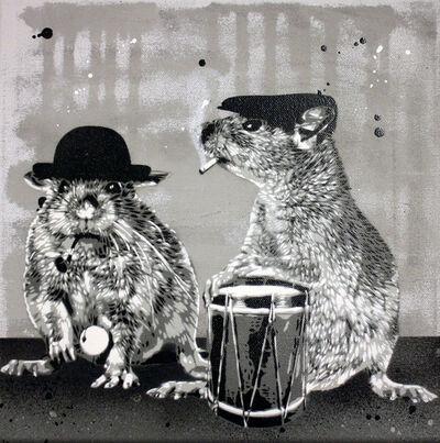 Hama Woods, 'Rat Pack Party 2', 2015