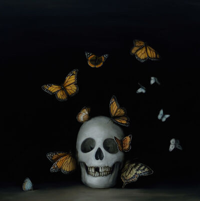 David Kroll, 'Still Life with Butterflies', 2017