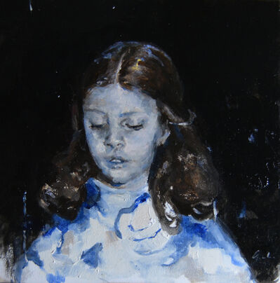 Jaclyn Alderete, 'Girl in Blue', 2018