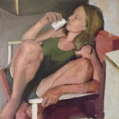 Anne Ben-Or, 'Girl on chair', 2014