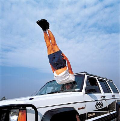 Li Wei 李日韦, 'Li Wei falls to the Car 042-01', 2003