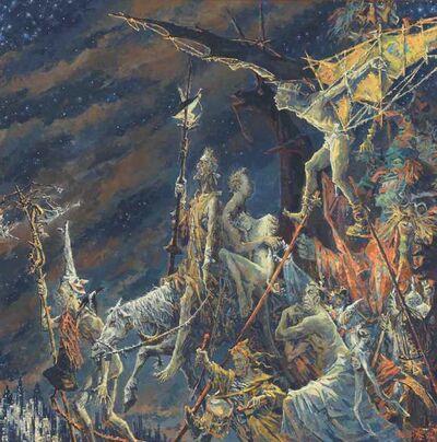 Sergei Chepik, 'Procession III', 1992