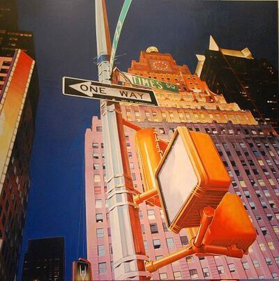 Peter Rocklin, 'Times Square - One Way'