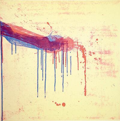 Pat Steir, 'Mixed Marks, Double Mark', 2004