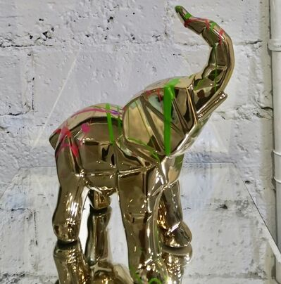 EB Studios, 'Elephant - Gold', 2020