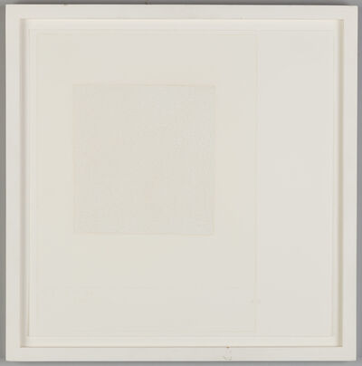 Robert Ryman, 'Test #3', 1990