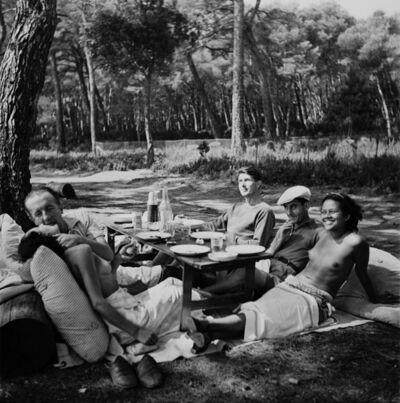 Lee Miller, 'Picnic, Ile Sainte Marguerite, Cannes, France', 1937