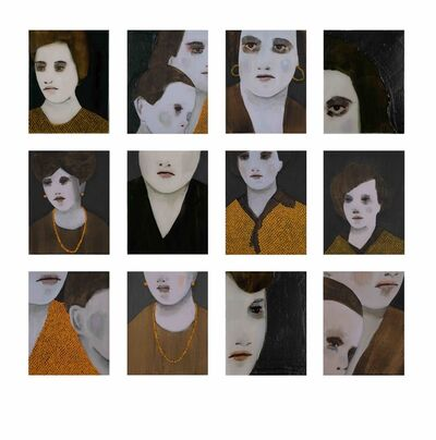 Andrea Lería, 'An Unfolding Portrait: Ghost (1954-2017)', 2018