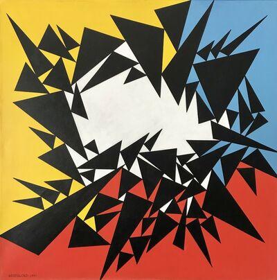 """José Pedro Costigliolo, '""""Triángulos LXVI, 1975""""', 1975"""