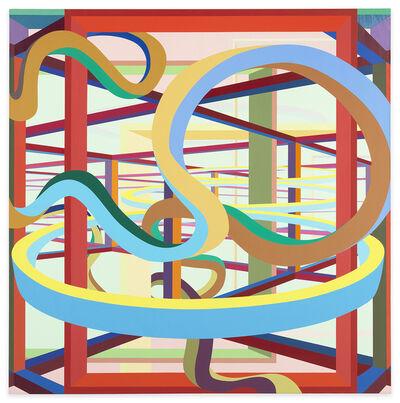 Al Held, 'Vorcex II', 1984
