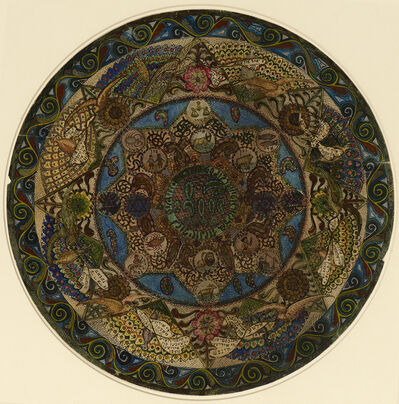 Lazar Berson, 'Circular Design for Ben Uri Art Society', 1915