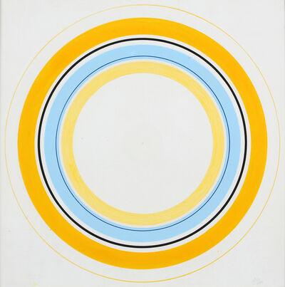 Antonio Asis, 'Cerchi concentrici n. 1007', 1985