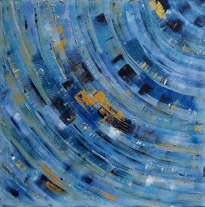 "Laura Payen, '""Blue Waves""', 2018"
